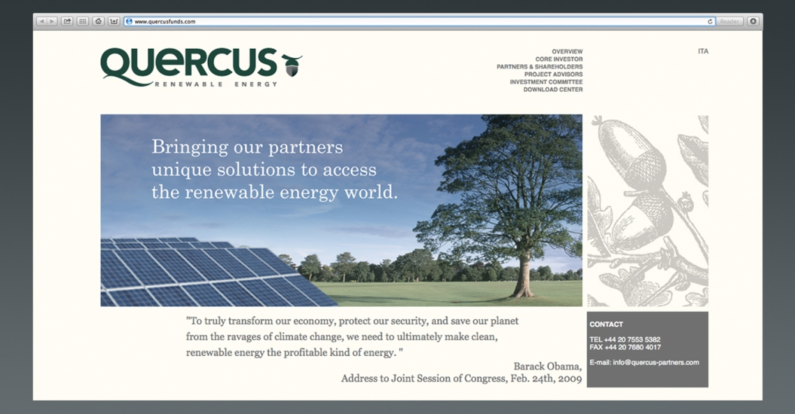 QUERCUS WEBSITE