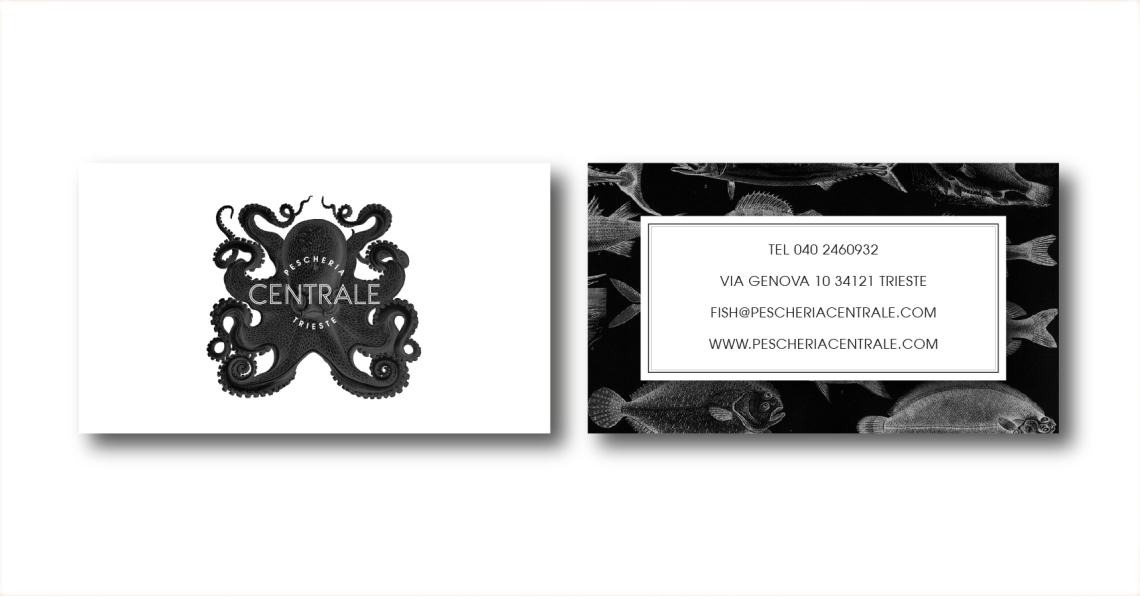 PESCHERIA CENTRALE BUSINESS CARDS