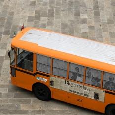Il Buseum, un autobus-museo ambulante